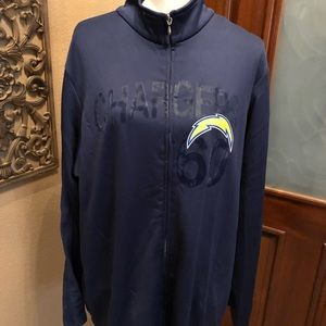 NFL Chargers Jacket 2X